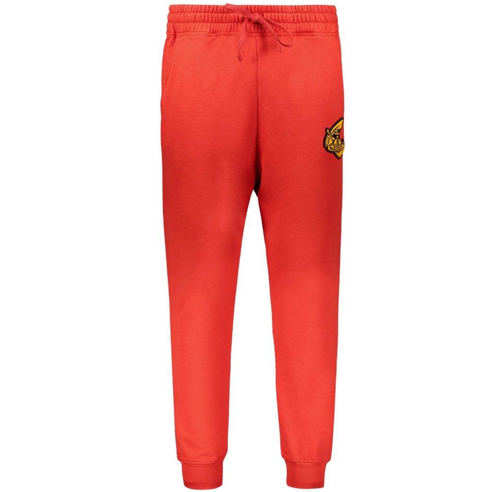 Vivienne Westwood Anglomania Classic Logo Sweat Pants Colour: RED, Siz