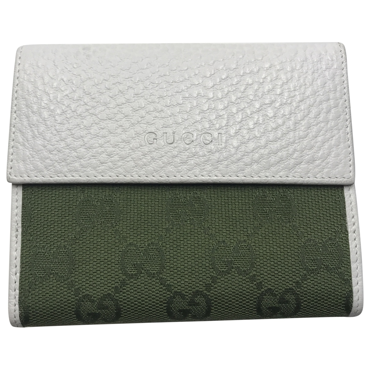 Gucci \N White Leather Purses, wallet & cases for Women \N