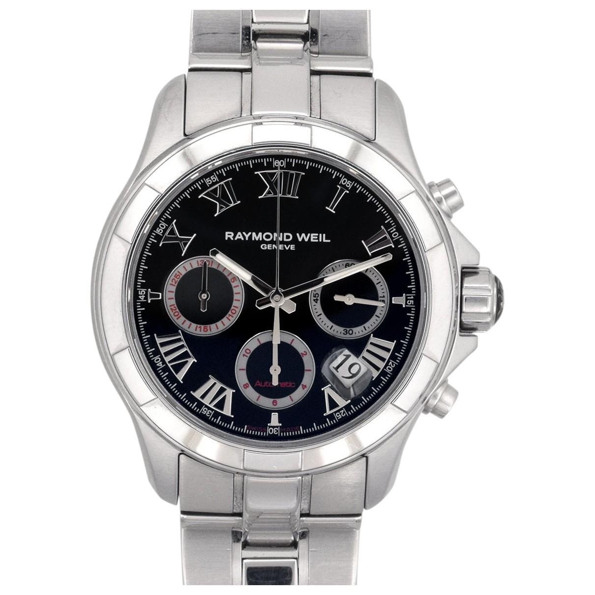 Maurice Lacroix \N Silver Steel watch for Men \N