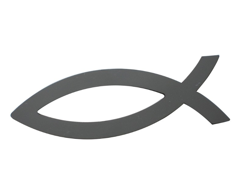 Quality Automotive Accessories Universal Decal Ichthys Fish