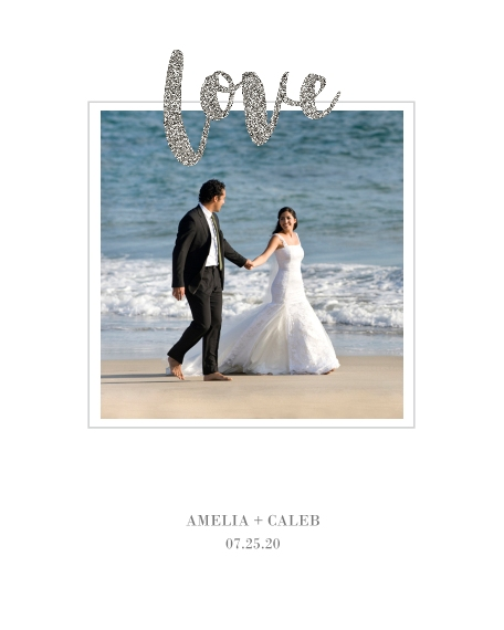 Love 16x20 Poster, Home Décor -Love Glitter