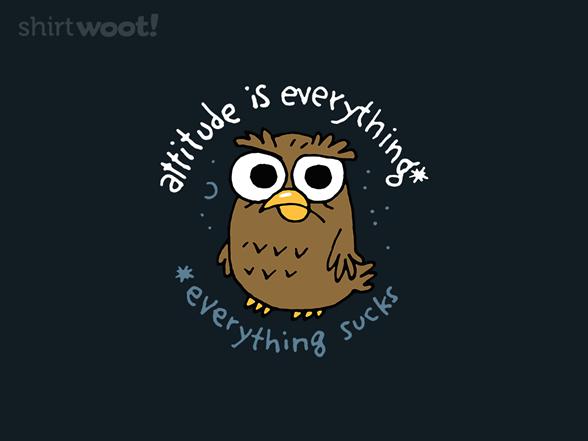 Bad Owltitude T Shirt