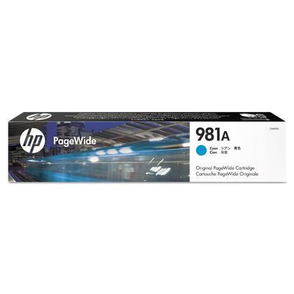 HP 981A J3M68A Original Cyan PageWide Ink Cartridge