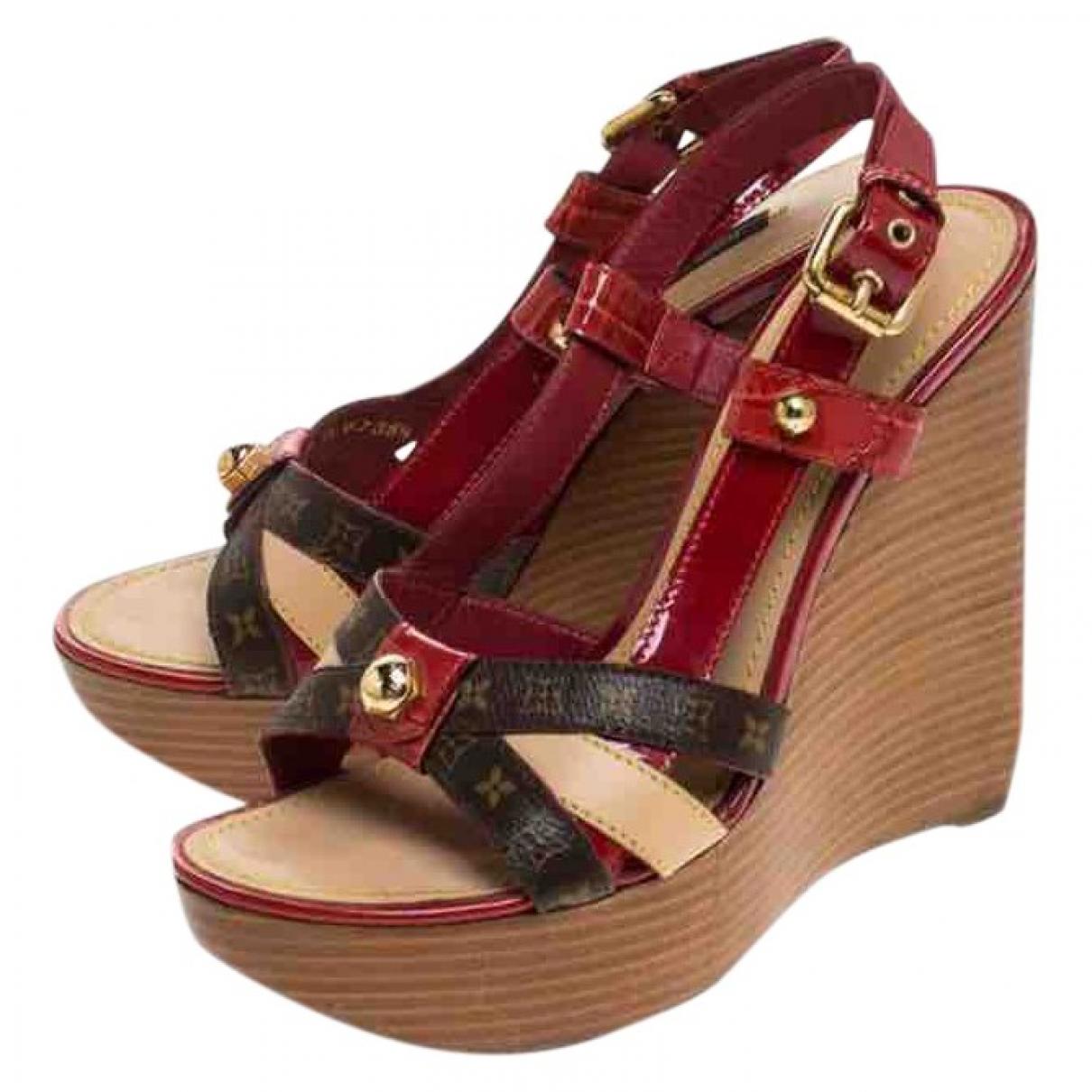 Louis Vuitton \N Multicolour Cloth Sandals for Women 38 EU