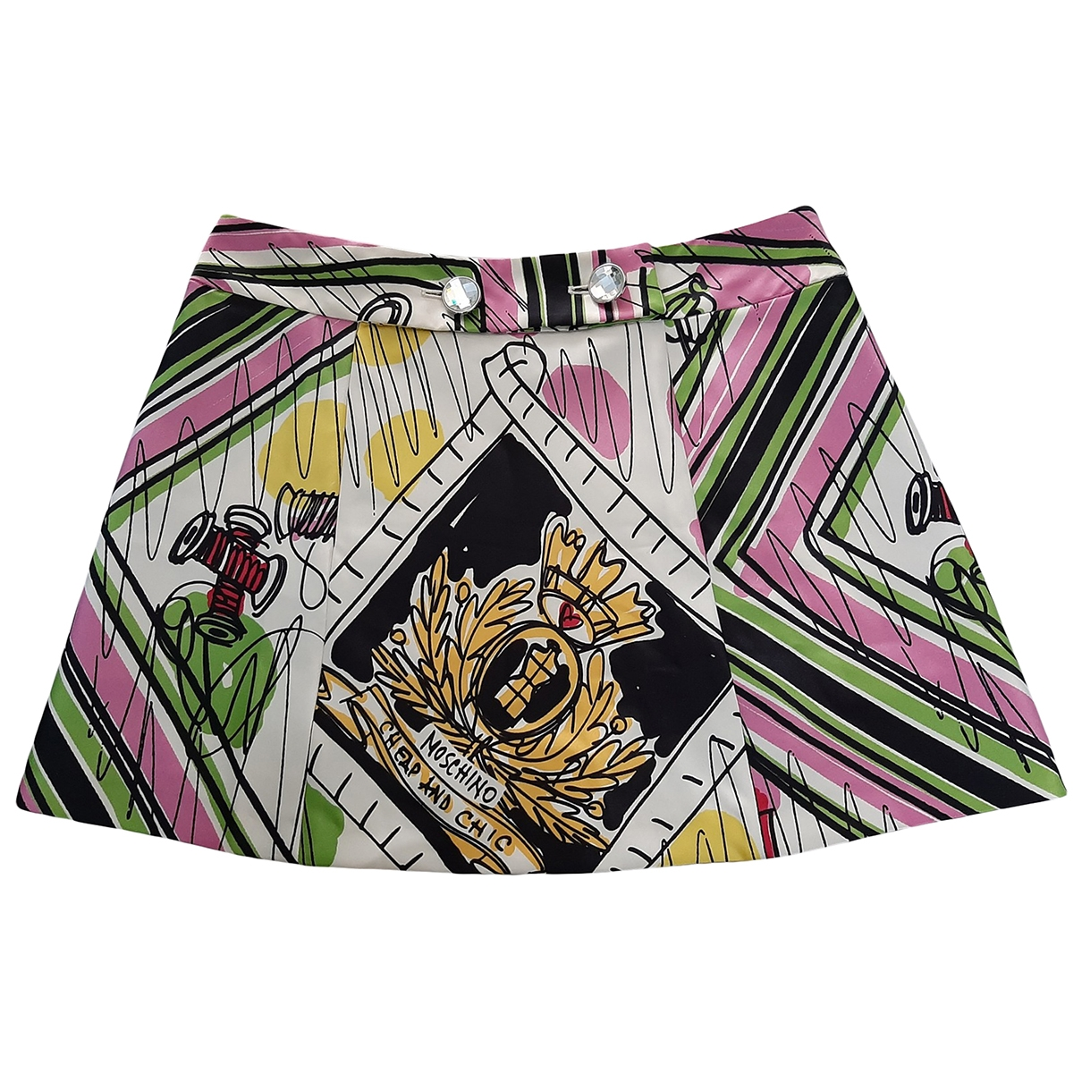 Moschino Cheap And Chic \N Multicolour skirt for Women 42 IT