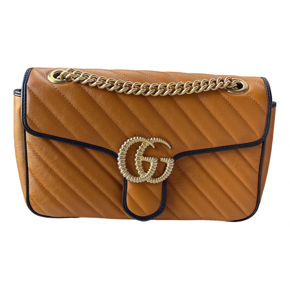 Gucci Marmont Camel Leather handbag for Women \N