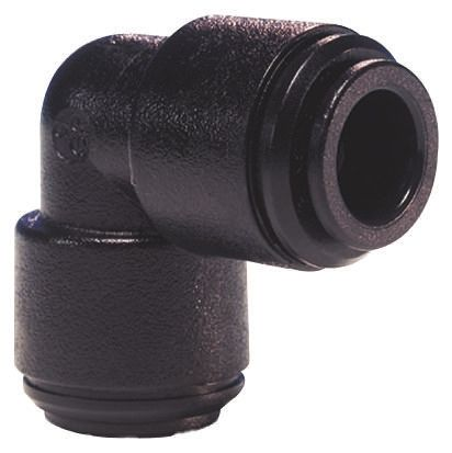 John Guest Pneumatic Elbow Tube-to-Tube Adapter Push In 5 mm to Push In 5 mm