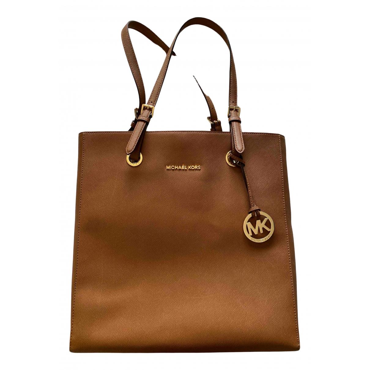 Michael Kors Sady Camel Leather handbag for Women \N