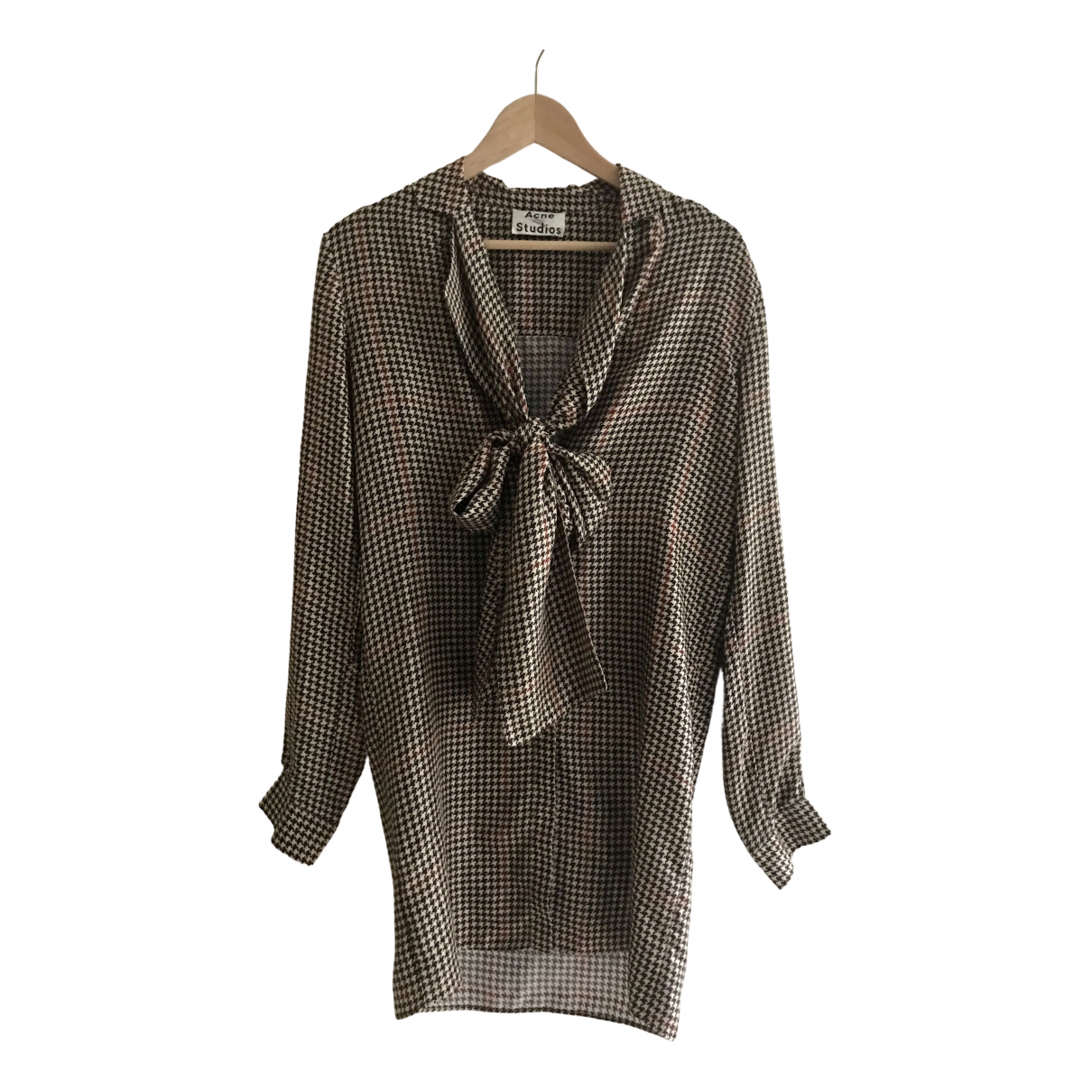 Acne Studios \N Multicolour Silk  top for Women S International