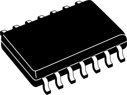 ON Semiconductor 74AC14SC, Hex Schmitt Trigger CMOS Inverter, 14-Pin SOIC (55)