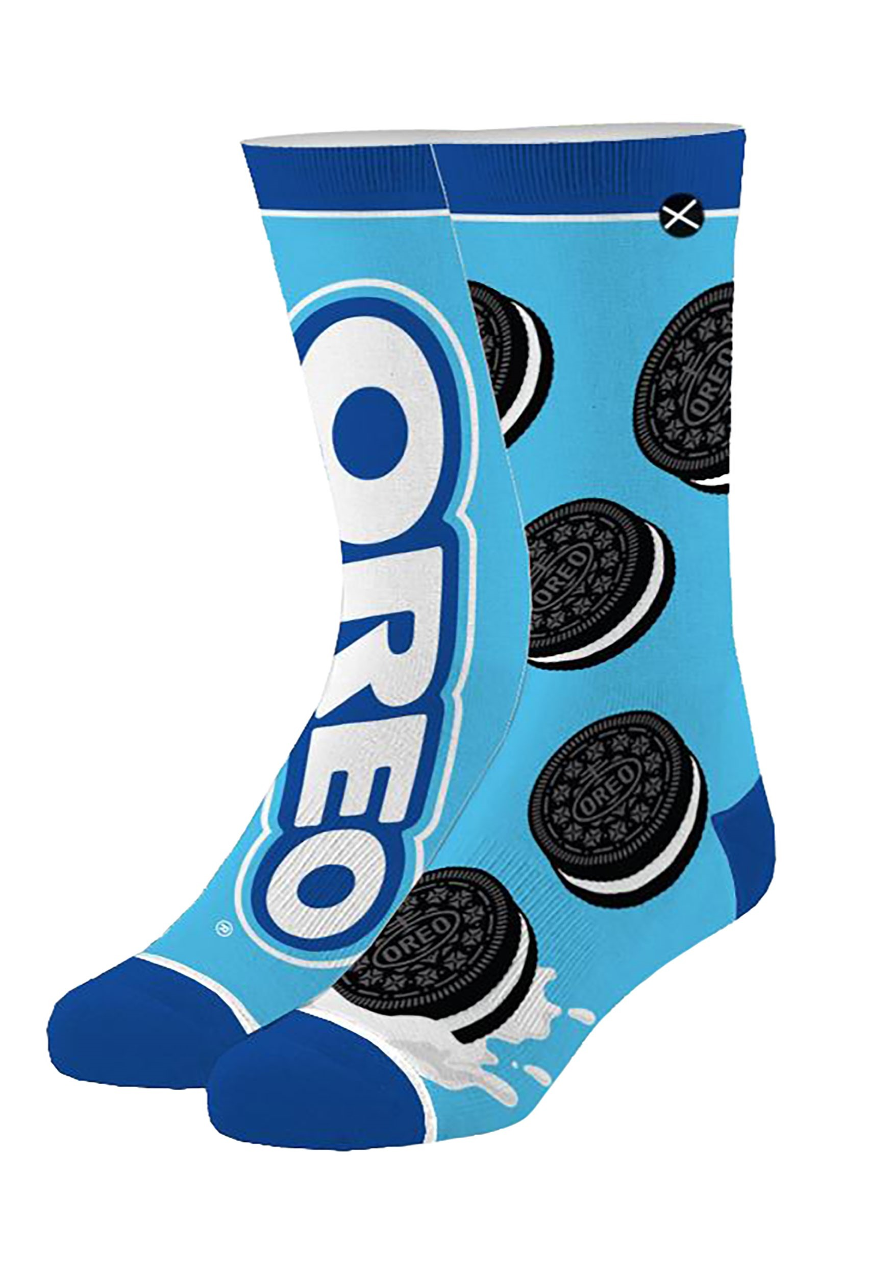 Oreo Knit Crew Socks for Adults