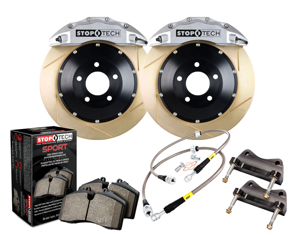 StopTech 83.188.6D00.63 Big Brake Kit 2 Piece Rotor; Front Front