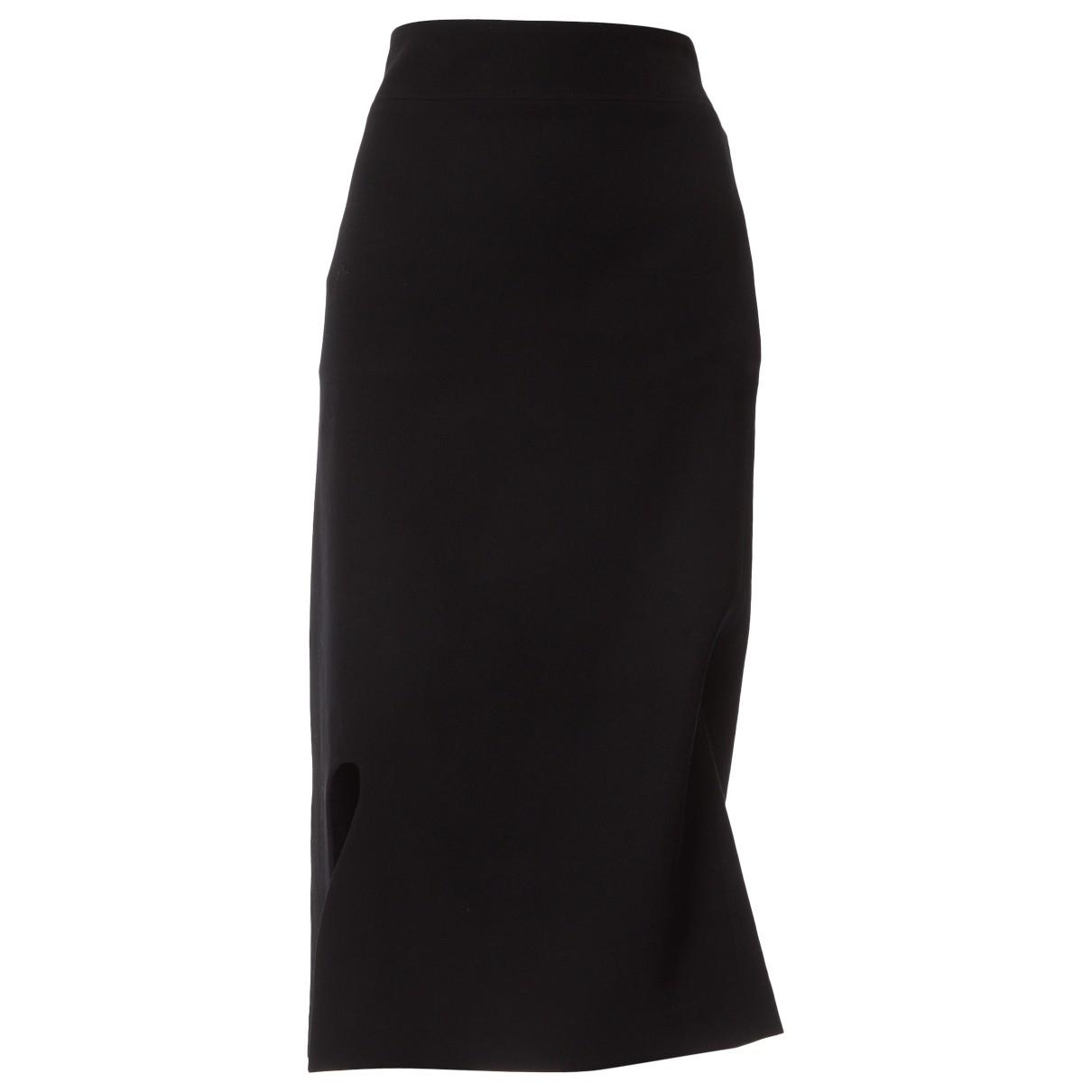 Yohji Yamamoto \N Black Wool skirt for Women 1 0-5