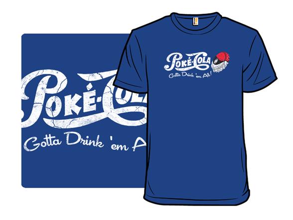 Poke-cola T Shirt