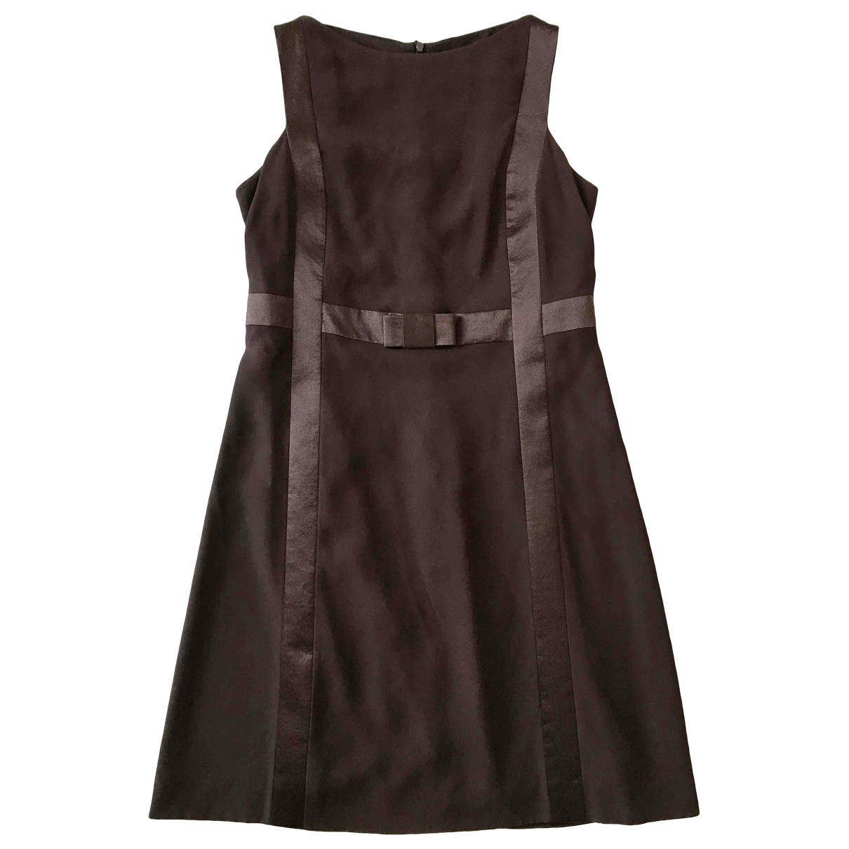 Non Signé / Unsigned \N Brown dress for Women 44 IT