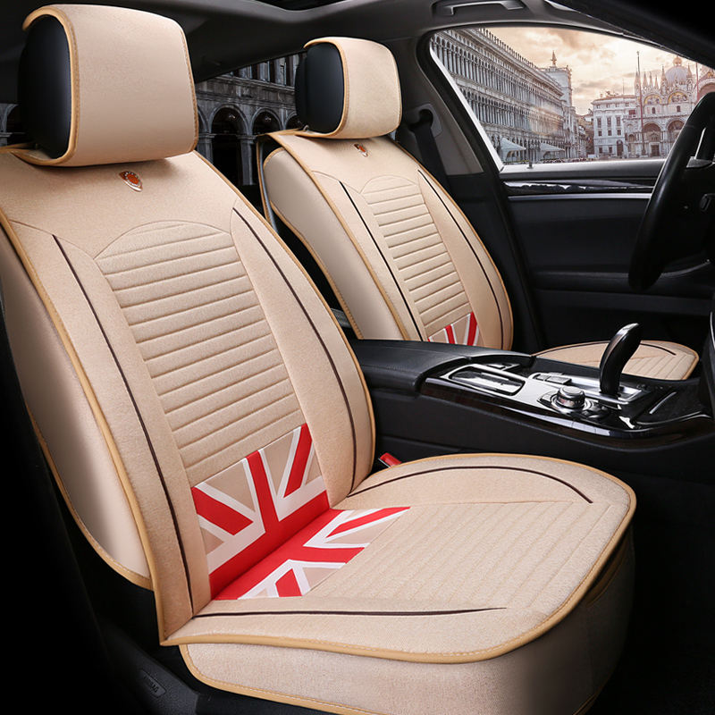 Super Cost-efficient Durable Flax Material Universal Car Seat Covers