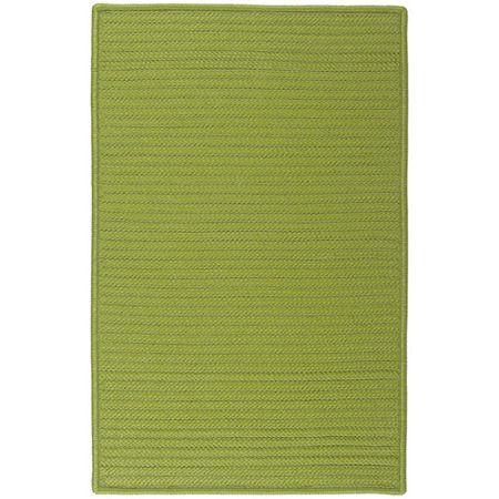 Colonial Mills Nantucket Reversible Braided Indoor/Outdoor Rectangular Rug, One Size , Green