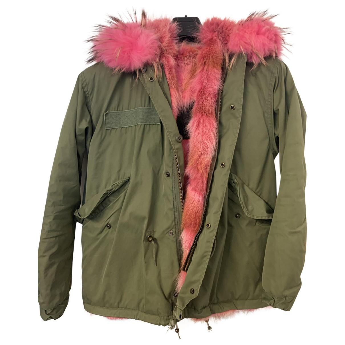 Mr & Mrs Furs \N Khaki Raccoon coat for Women S International