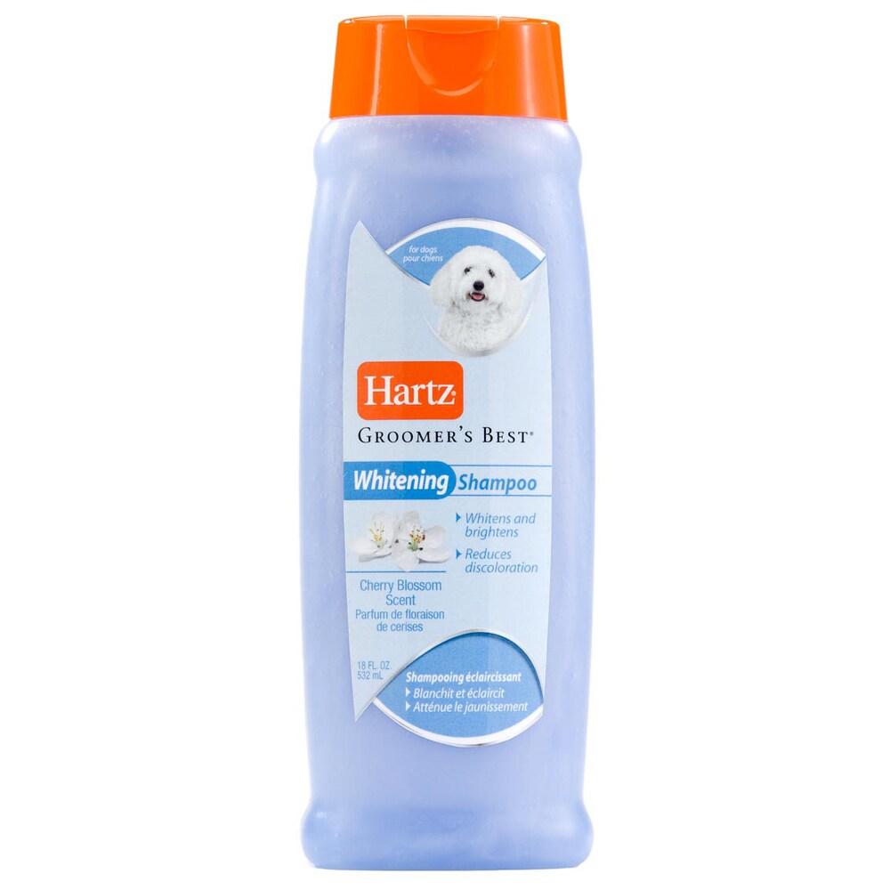 Hartz 18-ounce Cherry Blossom Whitener Dog Shampoo (Shampoo Dog Whitener)