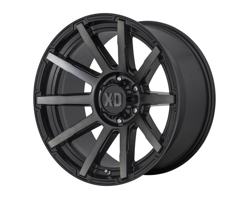 XD Series XD84721087418N Outbreak Wheel 20x10 8X170 -18mm Satin Black w/Gray Tint