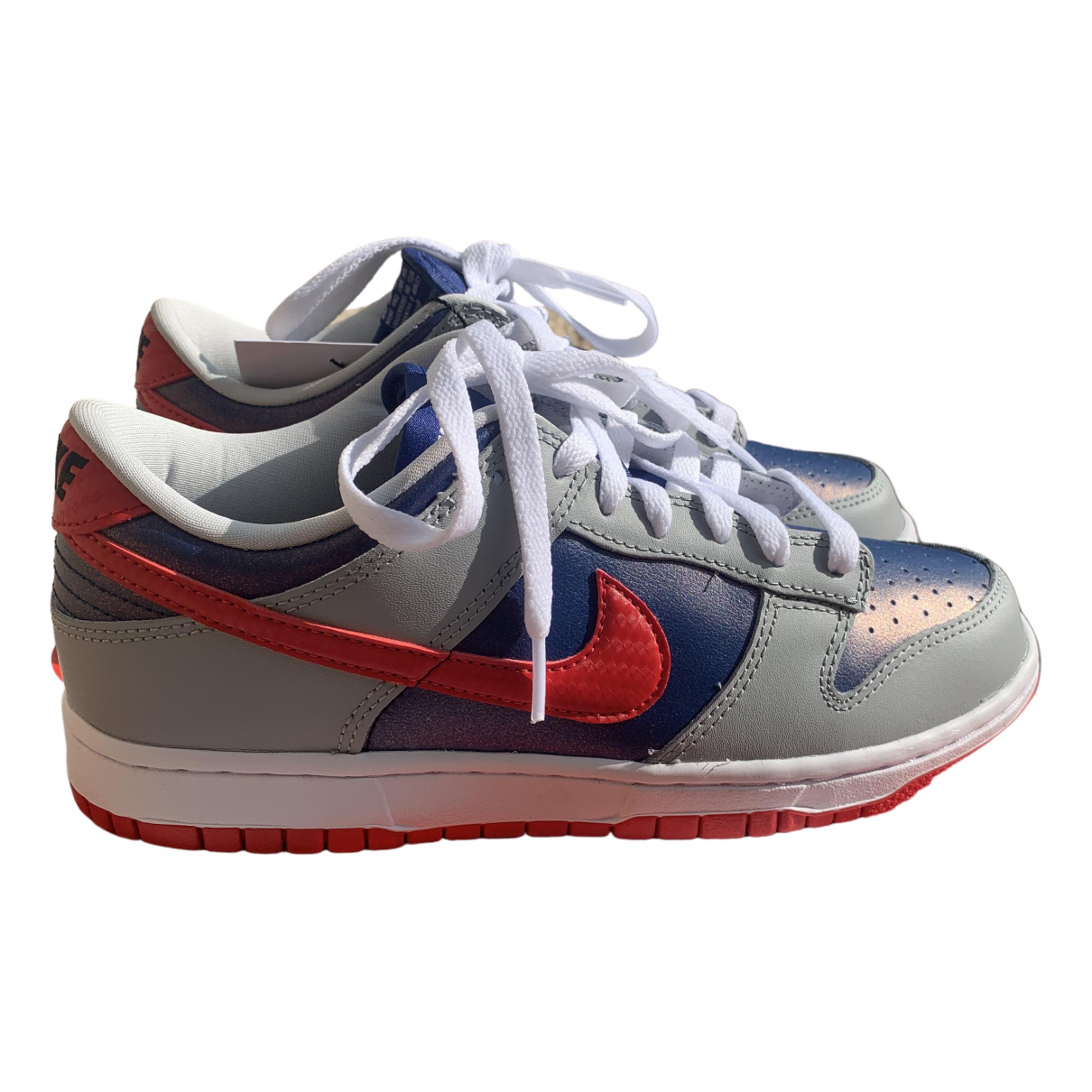 Nike SB Dunk  Multicolour Leather Trainers for Women 7 US