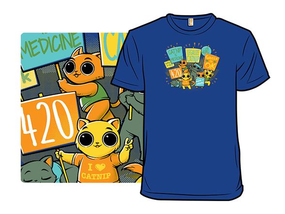 Legalize Catnip Remix T Shirt