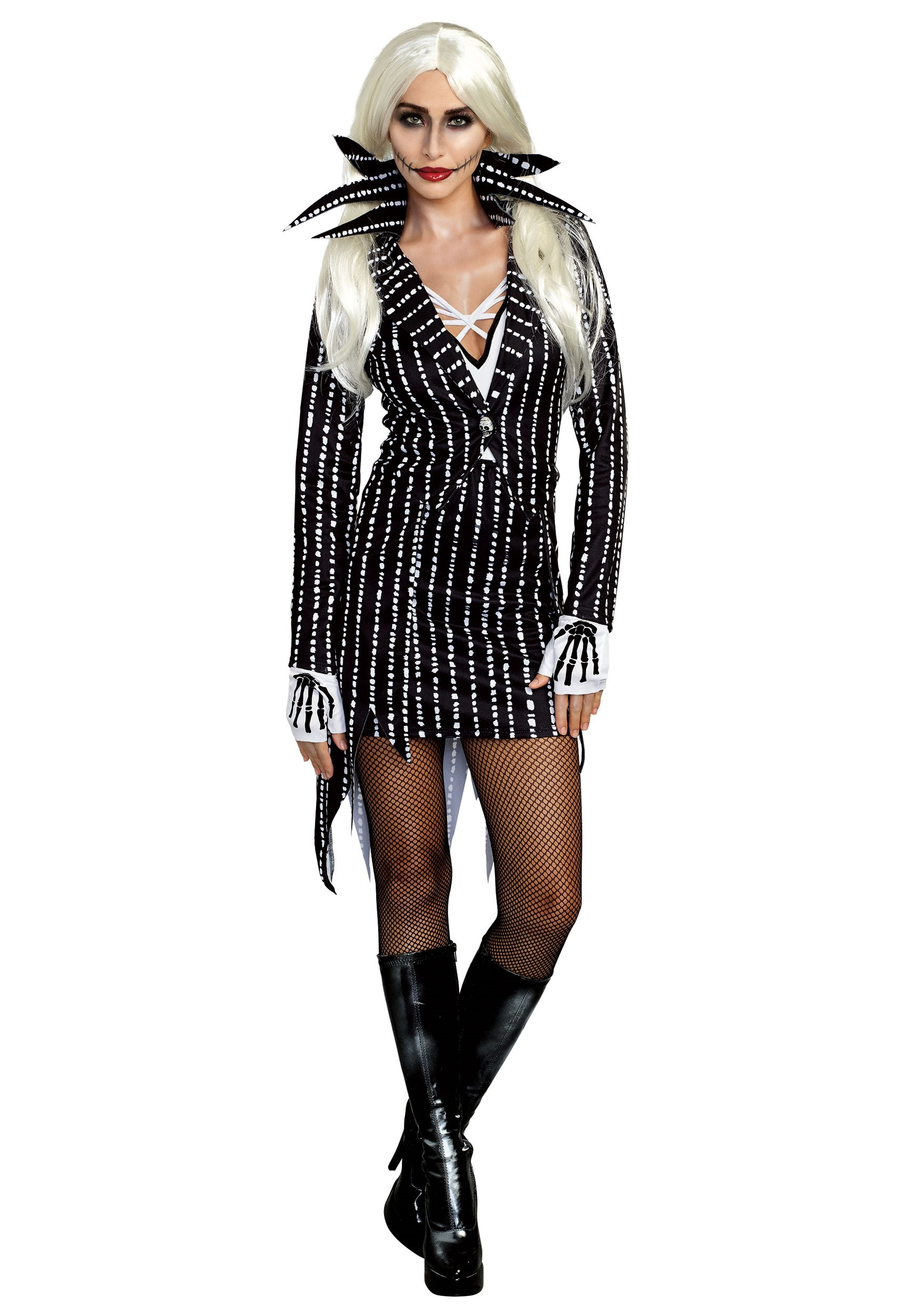Madame Skeleton Costume for Women
