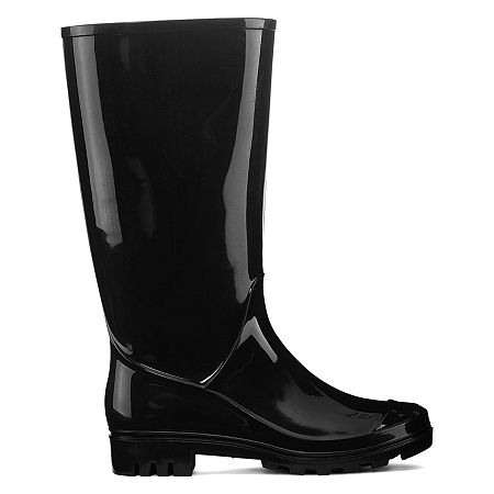 Arizona Womens Winston Rain Boots, 6 Medium, Black