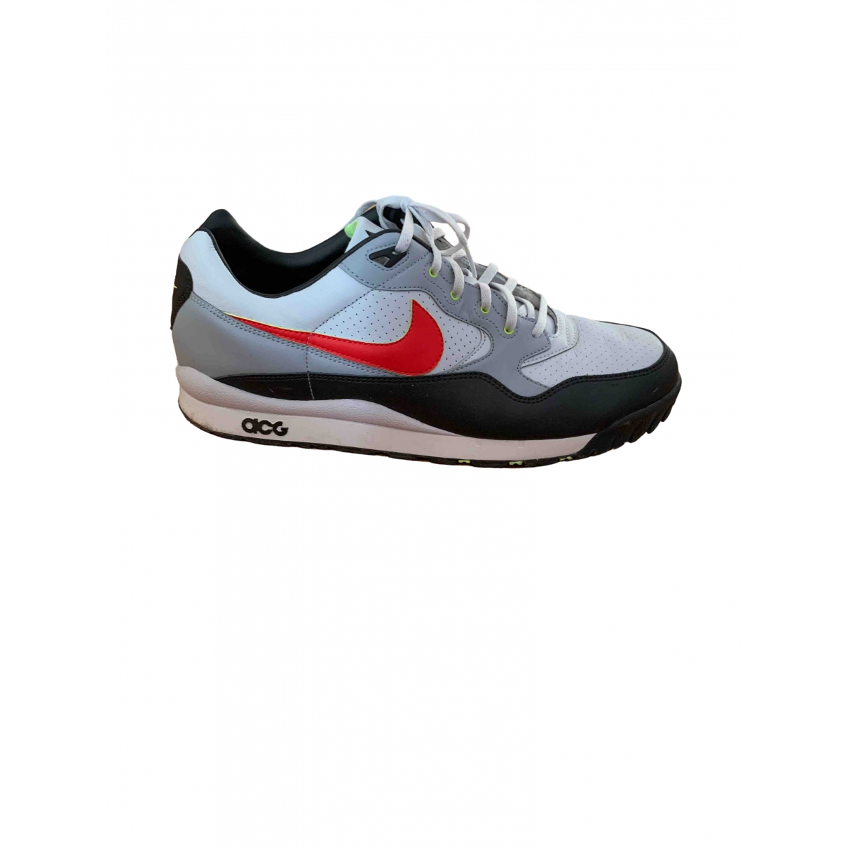 Nike Acg \N White Leather Trainers for Men 14 US