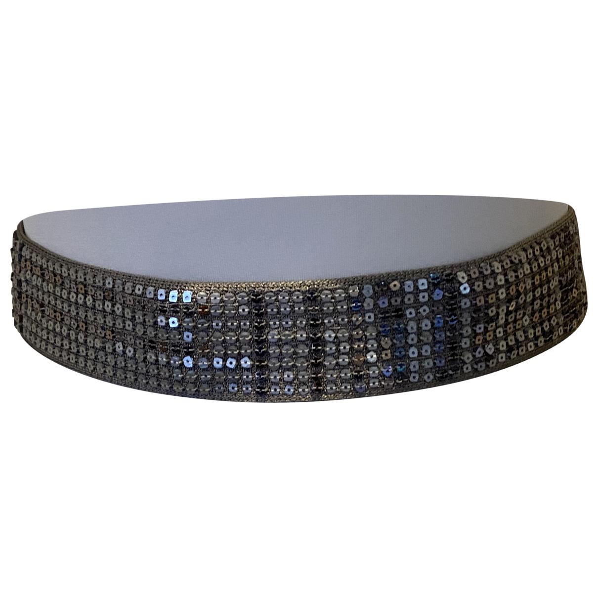 Missoni \N Silver Cloth belt for Women S International