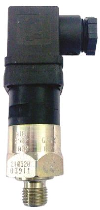 Gems Sensors Air, Hydraulic Pressure Switch, SPDT 2000 → 5000psi, 125/250 V, NPT 1/4 process connection