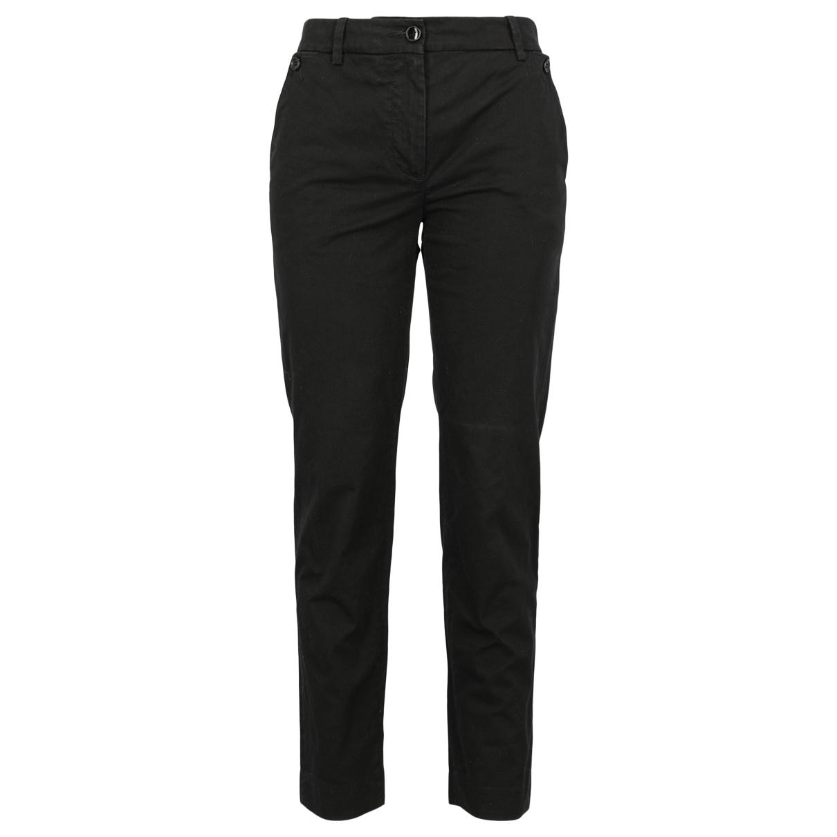 D&g \N Black Cotton Jeans for Women 40 FR