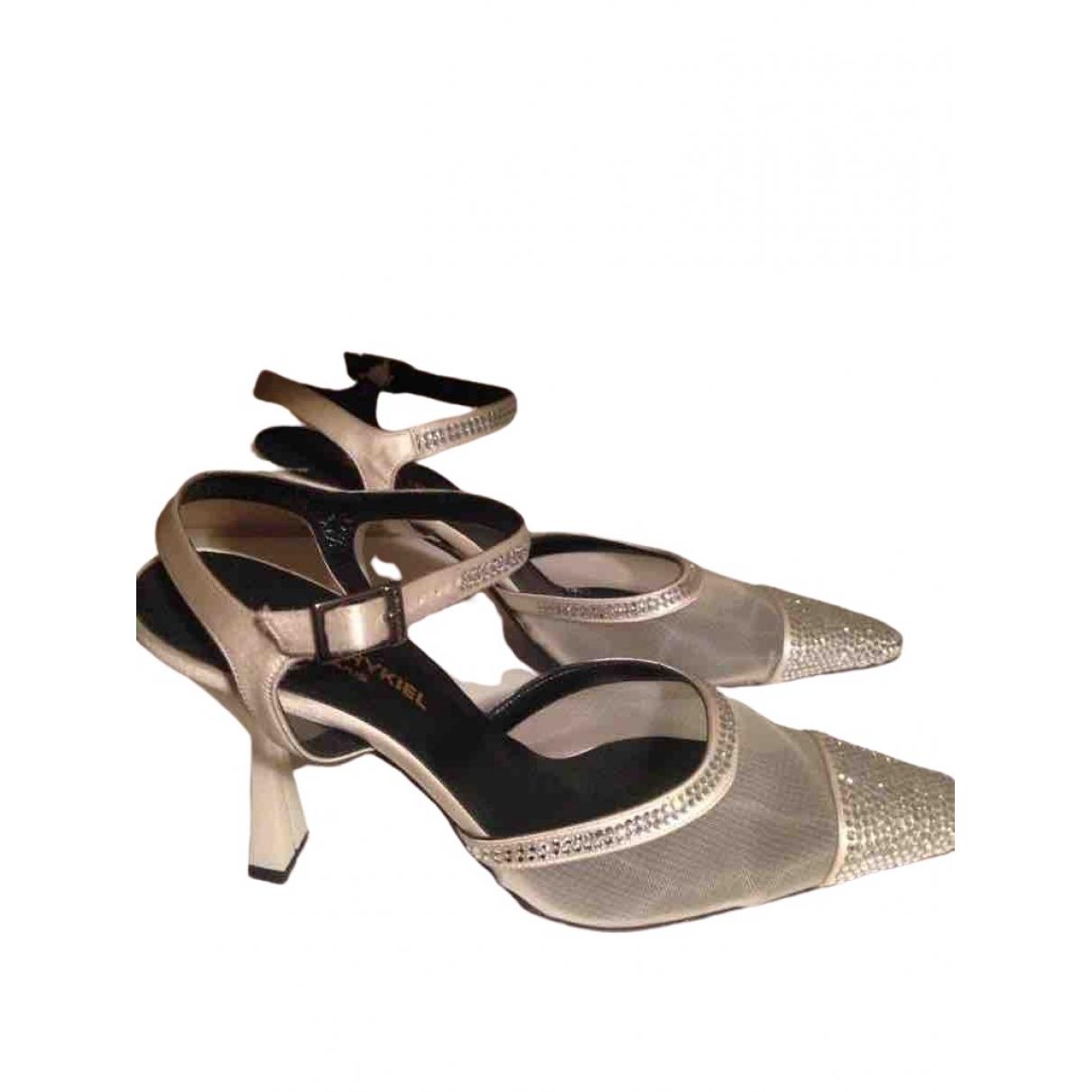 Sonia Rykiel \N Silver Cloth Sandals for Women 37 EU