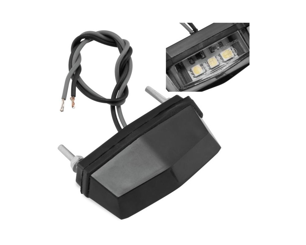 BikeMaster 102084-03 LED License Plate Light