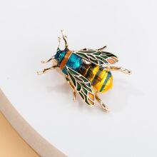 Color Bee Brooch