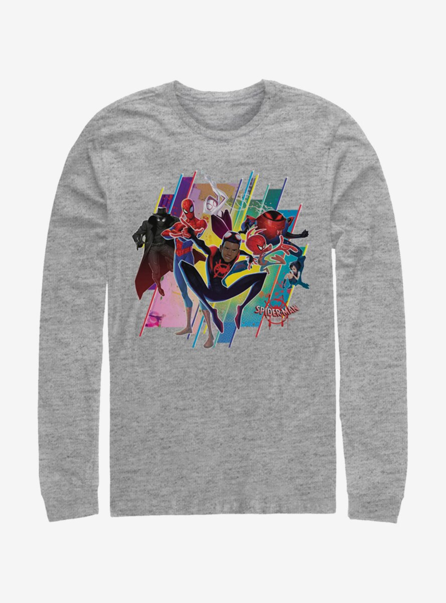 Marvel Spider-Man Spider-Verse Group Long-Sleeve T-Shirt