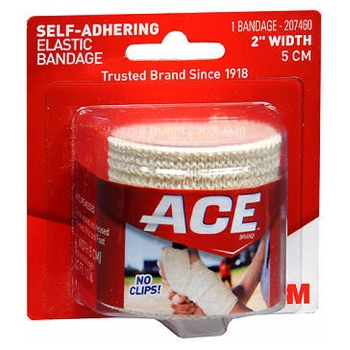 Ace Self-Adhering Elastic Bandage 2 inches 1 each by Ace