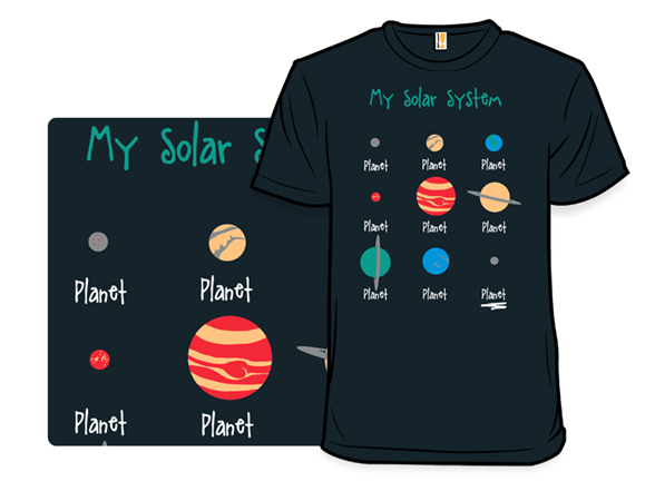 My Solar System T Shirt