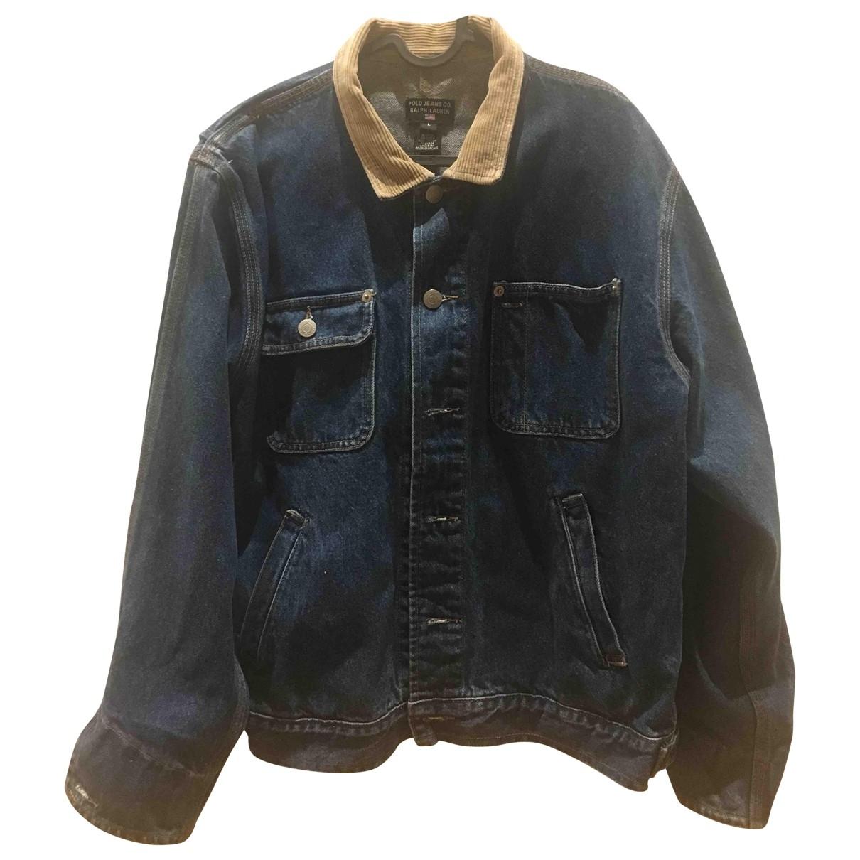 Polo Ralph Lauren \N Blue Denim - Jeans jacket for Women L International