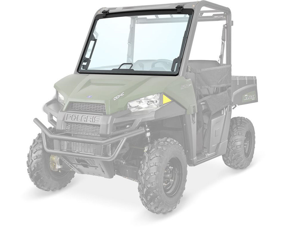 Polaris OEM 2881784 Lock & Ride Full Tip-Out Windshield - Glass