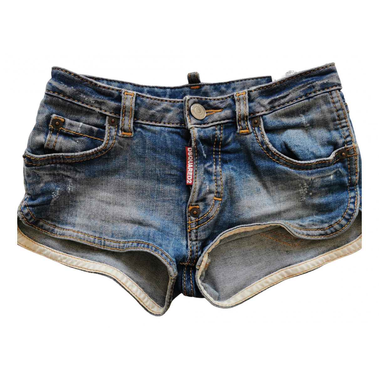 Dsquared2 \N Blue Cotton Shorts for Kids 6 years - up to 114cm FR