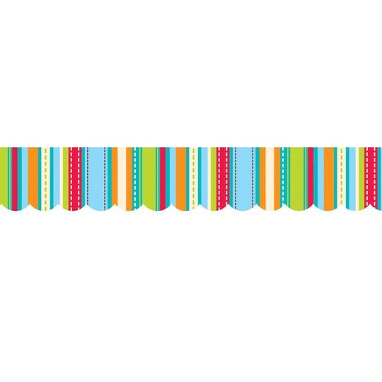 Creative Teaching Press® Stripes & Stitches Borders, 210Ft | Michaels®