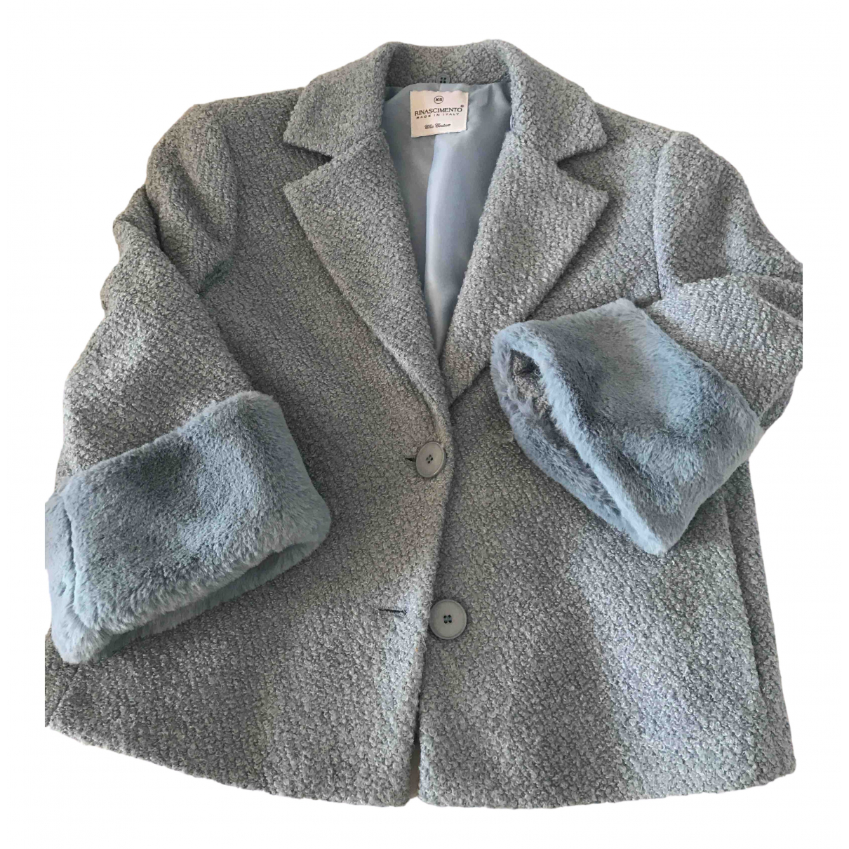 Non Signé / Unsigned \N Turquoise jacket for Women XS International