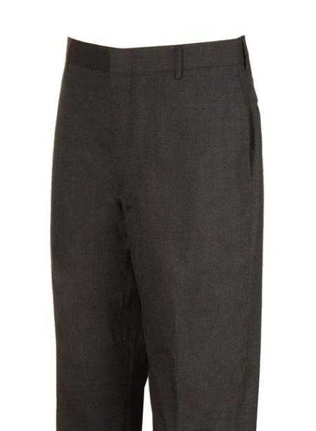 Clothing Manufacturers In America Plain Flat Front Dress Pants