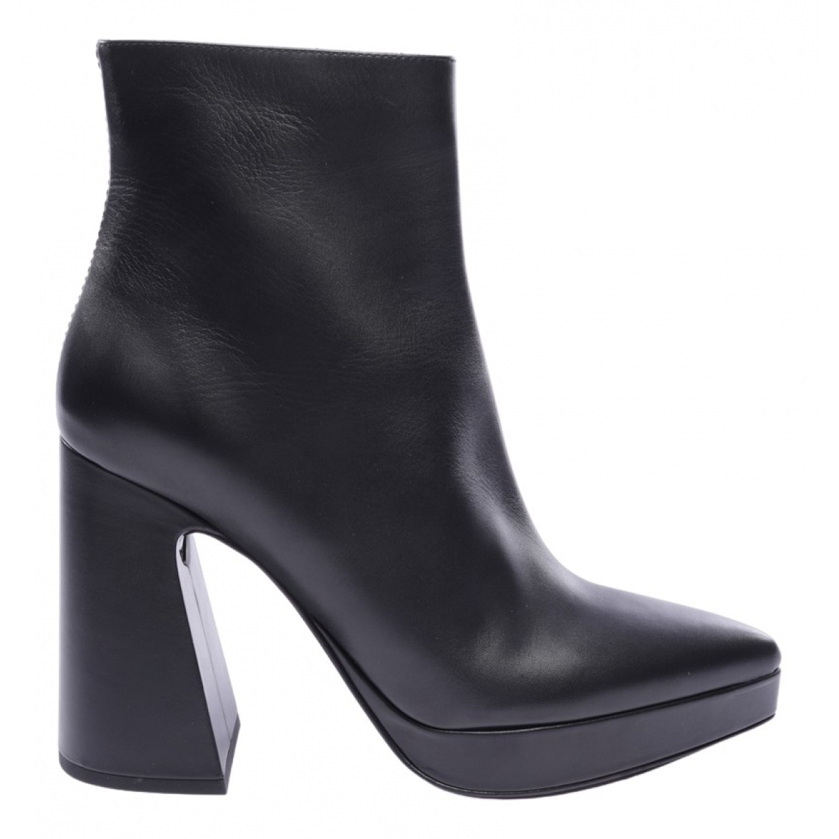 Proenza Schouler \N Black Leather Ankle boots for Women 40.5 EU