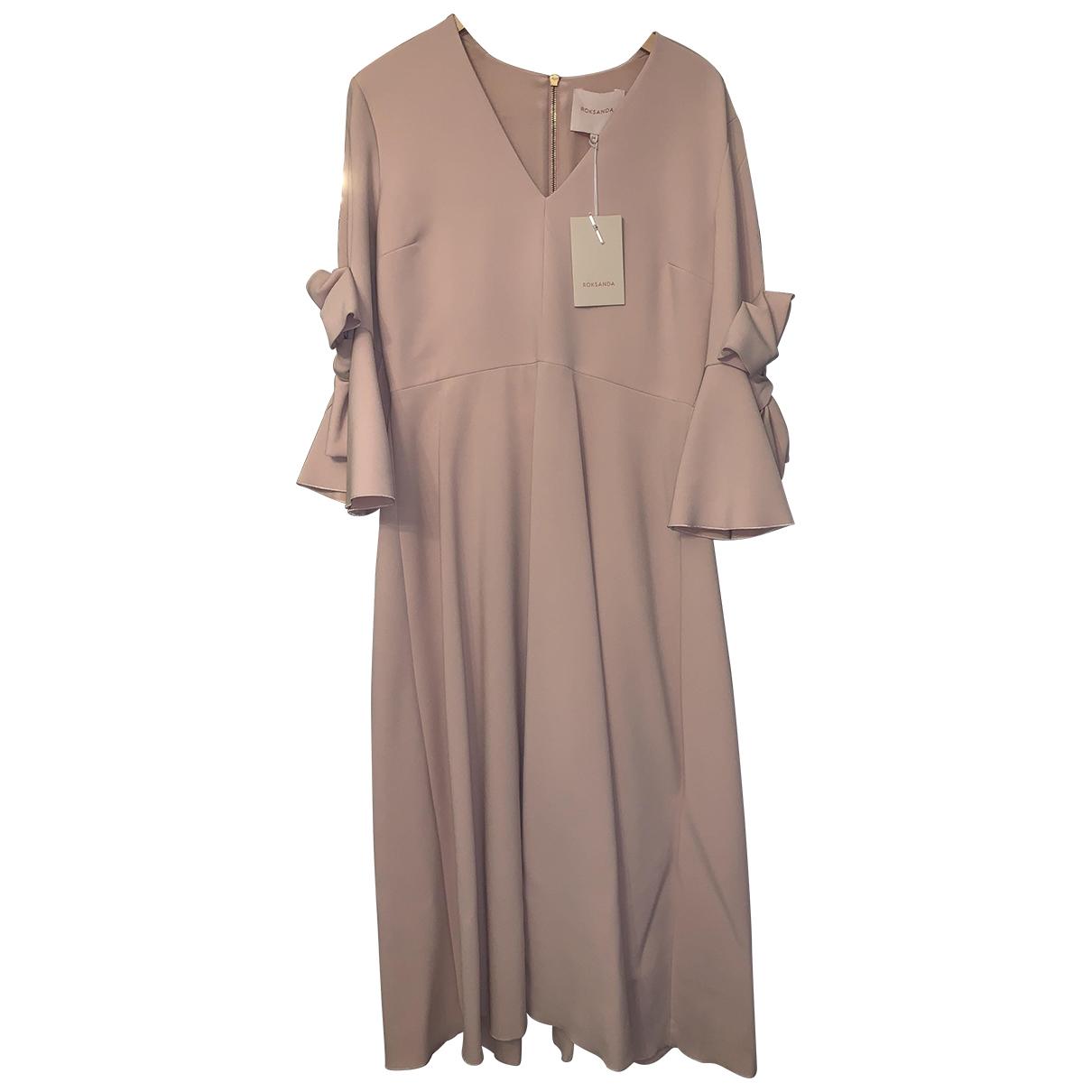 Roksanda \N Pink Cotton dress for Women 14 UK