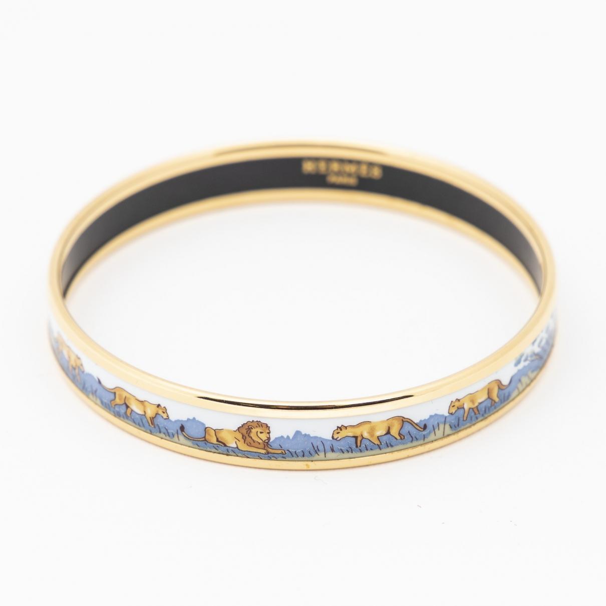 Hermès \N Gold Metal bracelet for Women \N