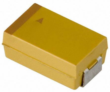AVX Tantalum Capactitor 100μF 6.3V dc Electrolytic Solid ±20% Tolerance , TAJ (500)