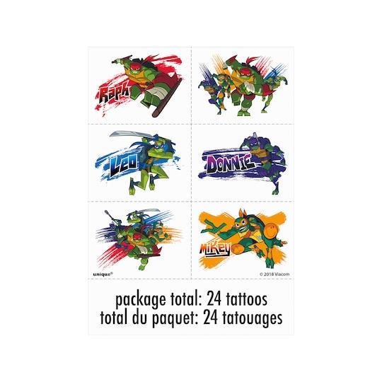 Teenage Mutant Ninja Turtles Tattoos, 24Ct By Nickelodeon | Michaels®