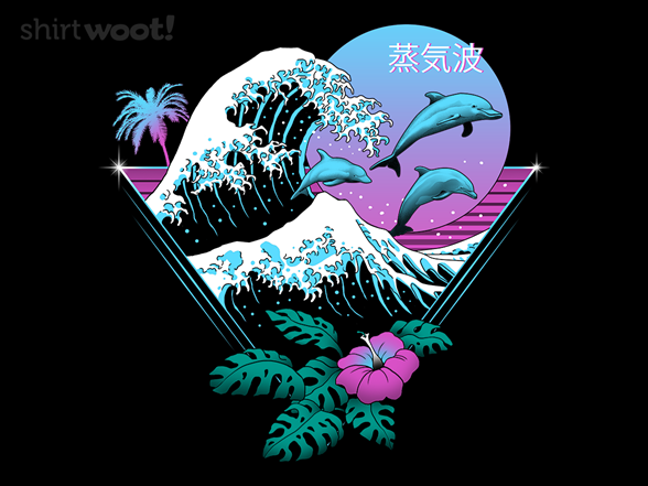Dolphin Waves T Shirt